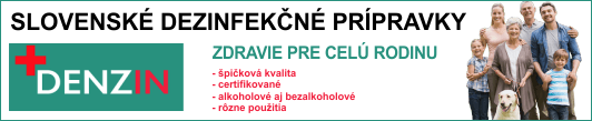 Slovenské dezinfekčné prípravky