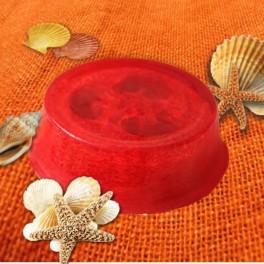 Glycerínové mydlo s lufou a vôňou čučoriedka