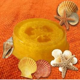 Glycerínové mydlo s lufou a vôňou Litsea Cubeba