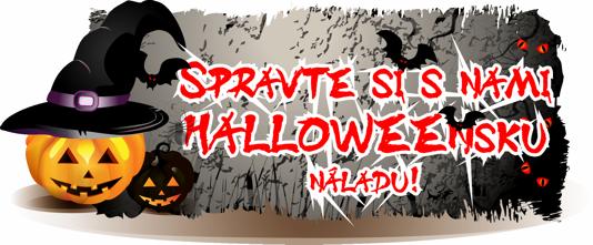 Spravte si s nami Halloweensku náladu