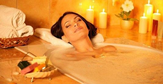 Blahodarný a osviežujúci kúpeľ